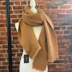 🔴 F21 CAMEL/TAN WARM SCARF [3/$15]